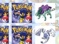 Game Find your cards with your favorite Pokemon. Play online