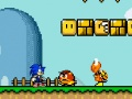 Game Sonic in Mario world. Play online