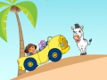 Game Dora Island Race. Play online