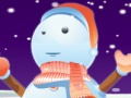 Game Cute snowman dressup. Play online