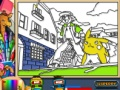 Game Pokemon forever online coloring page. Play online