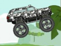Game Jungle truck. Play online