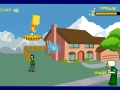 Game Simpson and aliens. Play online