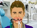 Game Justin Bieber at Dentist. Play online