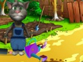 Game Talking Tom Gardener. Play online