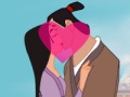 Game Princess Mulan: Kissing Prince. Play online