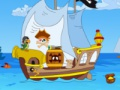 Game Pirate ship Find the difference. Play online