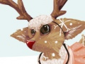Game Dress the reindeer. Play online