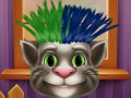 Game Tom & Angela. Real haircut. Play online