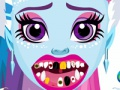 Game Abbey Bominable at the dentist. Play online