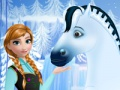 Game Anna's royal horse caring. Play online