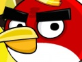 Angry Birds shoot at enemies