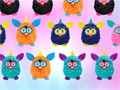 Game Furby three in a row. Play online