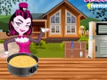 Game Monster High. Chocolate cake. Play online