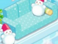 Game Snowman house. Play online