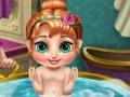 Game Anna's baby wash. Play online