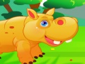 Game Cute Hippo Care. Play online
