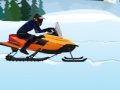 Game Snowmobile Rush. Play online