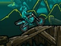 Game Jolly roger motocross. Play online