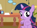 Game Twilight Sparkle. Christmas day. Play online