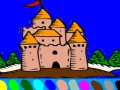 Game Coloring - big castle. Play online