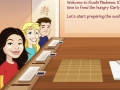 Game ICarly: Sushi Madness. Play online