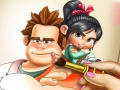 Game Vanellope Coloring Book. Play online