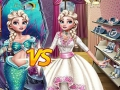 Game Eliza: Mermaid or Princess. Play online