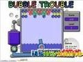 Game Troubles with bubbles . Play online