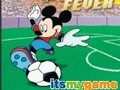Game Mickey Mouse and football . Play online