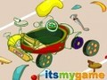 Game Smeshariks. Collect a car . Play online
