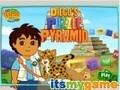 Game Puzzle of the Pyramids Diego . Play online