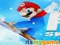 Game Mario snowboarder . Play online