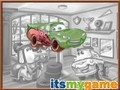 Game Cars Coloring . Play online