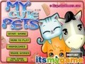 Game My cute animals . Play online