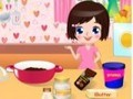 Game Cooking chocolate . Play online