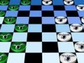Game Checkers Koala . Play online