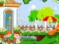 Game Decorate garden . Play online