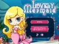 Game Beautiful mermaid . Play online