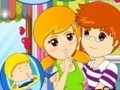 Game Kiss nanny . Play online