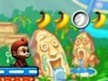 Game Jumping for bananas . Play online
