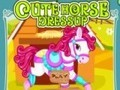 Game Dress up horse . Play online
