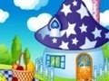 Game Smurf House Decorating . Play online