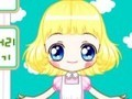 Game Dress the girl-narrator . Play online