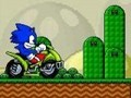 Game ATV Sonic in Mario World . Play online