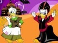 Game Coloring Donald and Magick . Play online