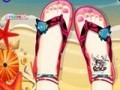 Game Decor my beach sandals . Play online