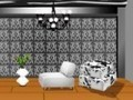 Game Black and white home decor . Play online