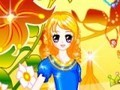 Game Dress up the beautiful 2 . Play online