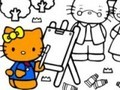 Game Hello Kitty coloring . Play online